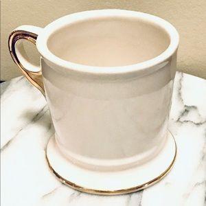 Anthropologie Kitchen - Anthropologie Monogram V Shave Style Coffee Mug